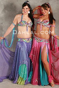 BUTTERFLY FANTASY by Pharaonics of Egypt, Egyptian Belly Dance Costume, Available for Custom Order