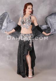 Starlight Egyptian belly dance costume
