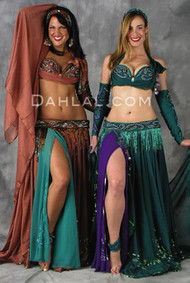 EGYPTIAN ROSE by Pharaonics of Egypt, Egyptian Belly Dance Costume, Available for Custom Order