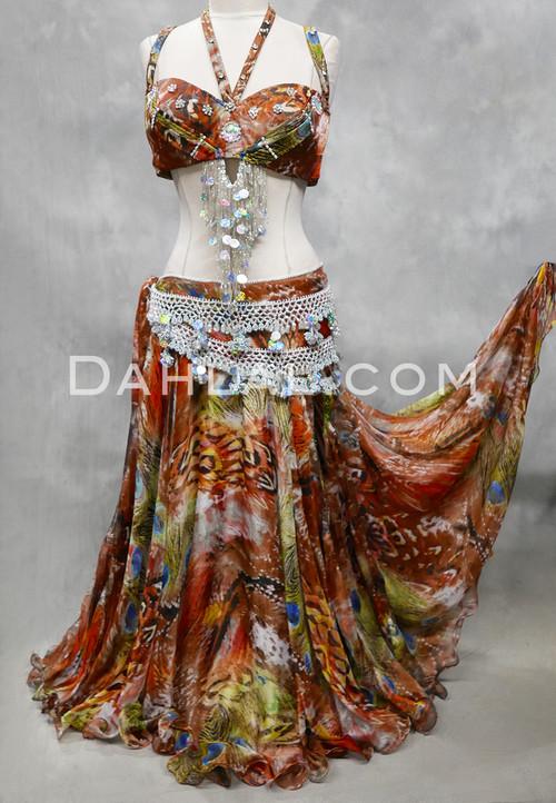 copper Egyptian costume