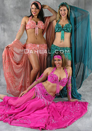 EGYPTIAN BEAUTY by Pharaonics of Egypt, Egyptian Belly Dance Costume, Available for Custom Order