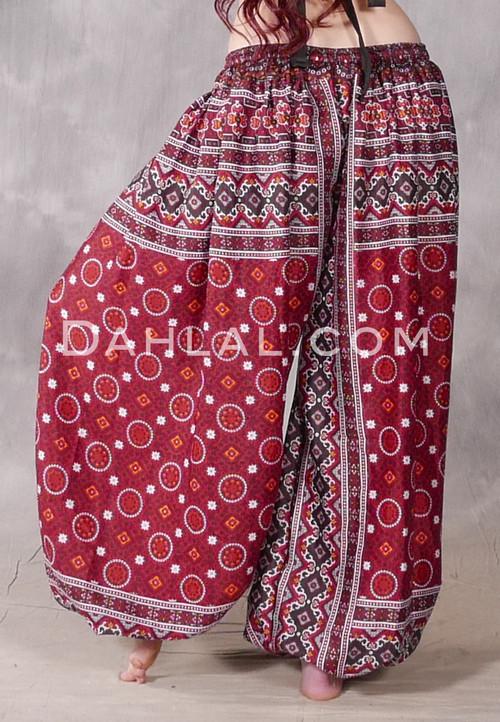 Ajrak Printed Harem Pant