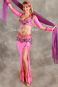 DOUBLE TAKE II by Pharaonics of Egypt, Egyptian Belly Dance Costume, Available for Custom Order