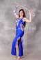 Royal Blue Beledi Egyptian Dress
