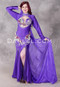 Purple Egyptian Beaded Dress