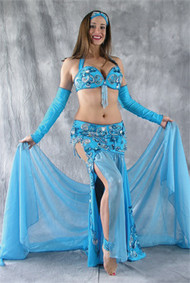 JEWELED PASSION by Pharaonics of Egypt, Egyptian Belly Dance Costume, Available for Custom Order