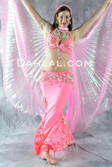 DIAMOND DRAPE by Pharaonics of Egypt, Egyptian Belly Dance Costume, Available for Custom Order image
