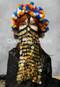 Gold Crocheted Face Veil