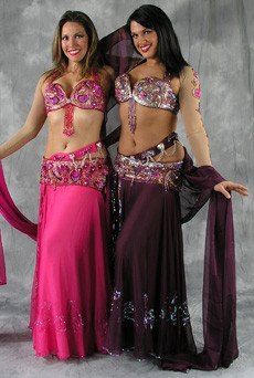 ELEGANCE ENTWINED by Pharaonics of Egypt, Egyptian Belly Dance Costume, Available for Custom Order image