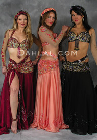 ELEGANCE ENTWINED by Pharaonics of Egypt, Egyptian Belly Dance Costume, Available for Custom Order