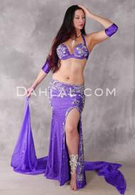 MAJESTIC PAGEANTRY - Purple, Silver and Multi-color, Bra Size C #4