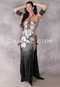 Black and Silver Egyptian Beaded Dress