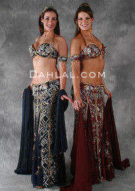 LABYRINTH by Pharaonics of Egypt, Egyptian Belly Dance Costume, Available for Custom Order