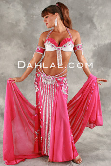 ANDALUSIAN VISION by Pharaonics of Egypt, Egyptian Belly Dance Costume, Available for Custom Order image