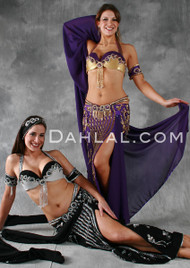 ANDALUSIAN VISION by Pharaonics of Egypt, Egyptian Belly Dance Costume, Available for Custom Order