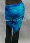 Mediterranean Print velvet shawl