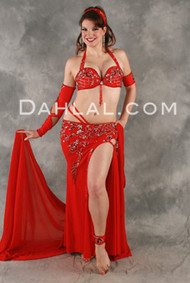 KARMA by Pharaonics of Egypt, Egyptian Belly Dance Costume, Available for Custom Order