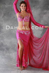 SIMPLY DIVINE by Pharaonics of Egypt, Egyptian Belly Dance Costume, Available for Custom Order