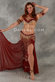ANDALUSIAN ROMANCE by Pharaonics of Egypt, Egyptian Belly Dance Costume, Available for Custom Order