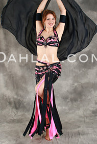 SWEET ESCAPE by Pharaonics of Egypt, Egyptian Belly Dance Costume, Available for Custom Order