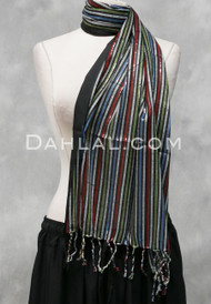 Woven Striped Scarf 4