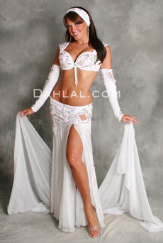 BOTANICA by Pharaonics of Egypt, Egyptian Belly Dance Costume, Available for Custom Order image