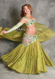 BOTANICA by Pharaonics of Egypt, Egyptian Belly Dance Costume, Available for Custom Order