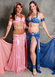 GLEAMING GODDESS by Pharaonics of Egypt, Egyptian Belly Dance Costume, Available for Custom Order