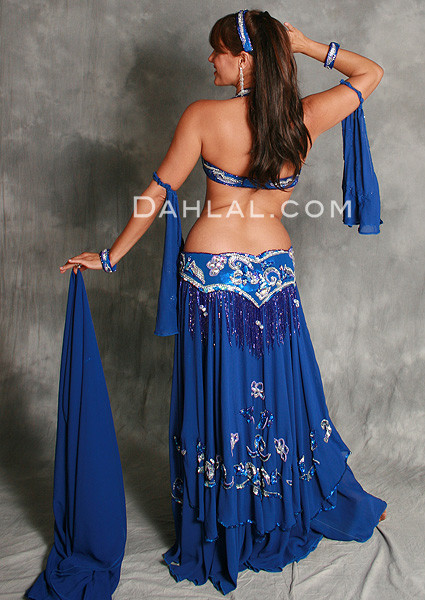 REGALIA by Pharaonics of Egypt, Egyptian Belly Dance Costume, Available for Custom Order image