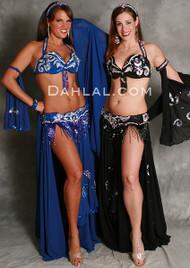 REGALIA by Pharaonics of Egypt, Egyptian Belly Dance Costume, Available for Custom Order