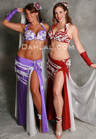 LUMIERE by Pharaonics of Egypt, Egyptian Belly Dance Costume, Available for Custom Order
