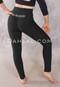 Ya Habibi Logo Black Cotton Lycra Leggings