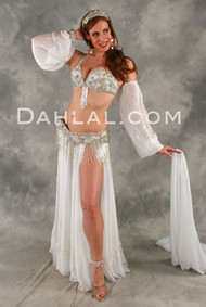 ROMANTIC INTERLUDE by Pharaonics of Egypt, Egyptian Belly Dance Costume, Available for Custom Order