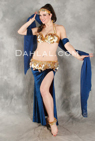 VINTAGE VISION by Pharaonics of Egypt, Egyptian Belly Dance Costume, Available for Custom Order