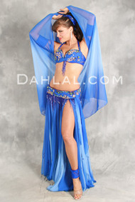 IRRESISTIBLE by Pharaonics of Egypt, Egyptian Belly Dance Costume, Available for Custom Order