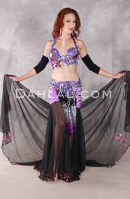Royal Affair Purple, Fuchsia, Gold and Silver Egyptian Costume
