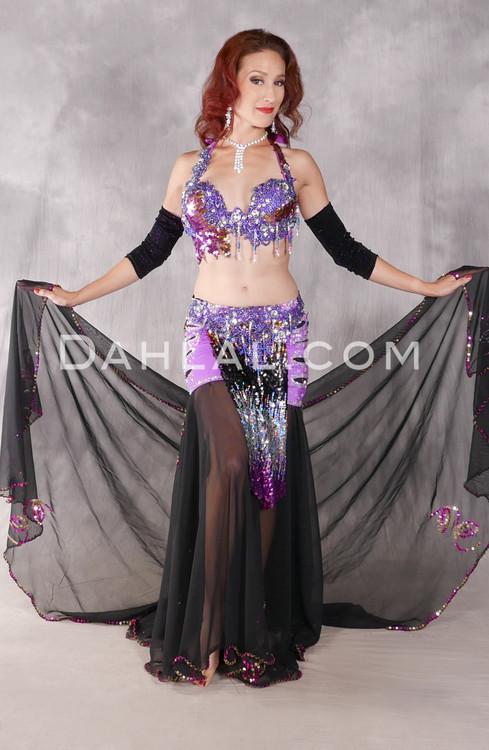 Royal Affair Purple, Fuchsia, Gold and Silver Egyptian Costume