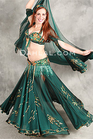 CELESTIAL SHIMMER by Pharaonics of Egypt, Egyptian Belly Dance Costume, Available for Custom Order