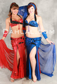 SPIRAL SEDUCTION by Pharaonics of Egypt, Egyptian Belly Dance Costume, Available for Custom Order