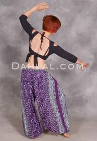 Purple Maharani Harem Pants