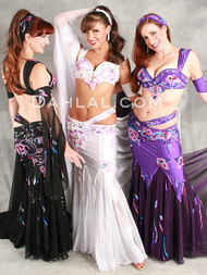 ARABIAN NIGHTS by Pharaonics of Egypt, Egyptian Belly Dance Costume, Available for Custom Order