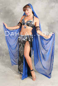 ASSUIT ICON I by Pharaonics of Egypt, Egyptian Belly Dance Costume, Available for Custom Order