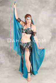 ASSUIT ICON II by Pharaonics of Egypt, Egyptian Belly Dance Costume, Available for Custom Order