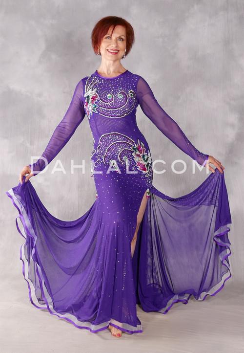 Star Galaxy Egyptian Dress