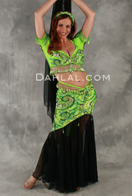 SAMIA'S SECRET by Pharaonics of Egypt, Egyptian Belly Dance Costume, Available for Custom Order