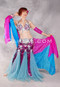 Under The Sea Egyptian Costume - Fuchsia, Turquoise and Silver