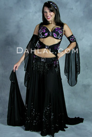 WRAPPED IN ELEGANCE by Pharaonics of Egypt, Egyptian Belly Dance Costume, Available for Custom Order