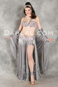 FROM THE HEART by Pharaonics of Egypt, Egyptian Belly Dance Costume, Available for Custom Order