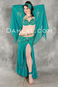 ELEGANT RADIANCE by Pharaonics of Egypt, Egyptian Belly Dance Costume, Available for Custom Order