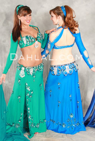 LEGACY by Pharaonics of Egypt, Egyptian Belly Dance Costume, Available for Custom Order